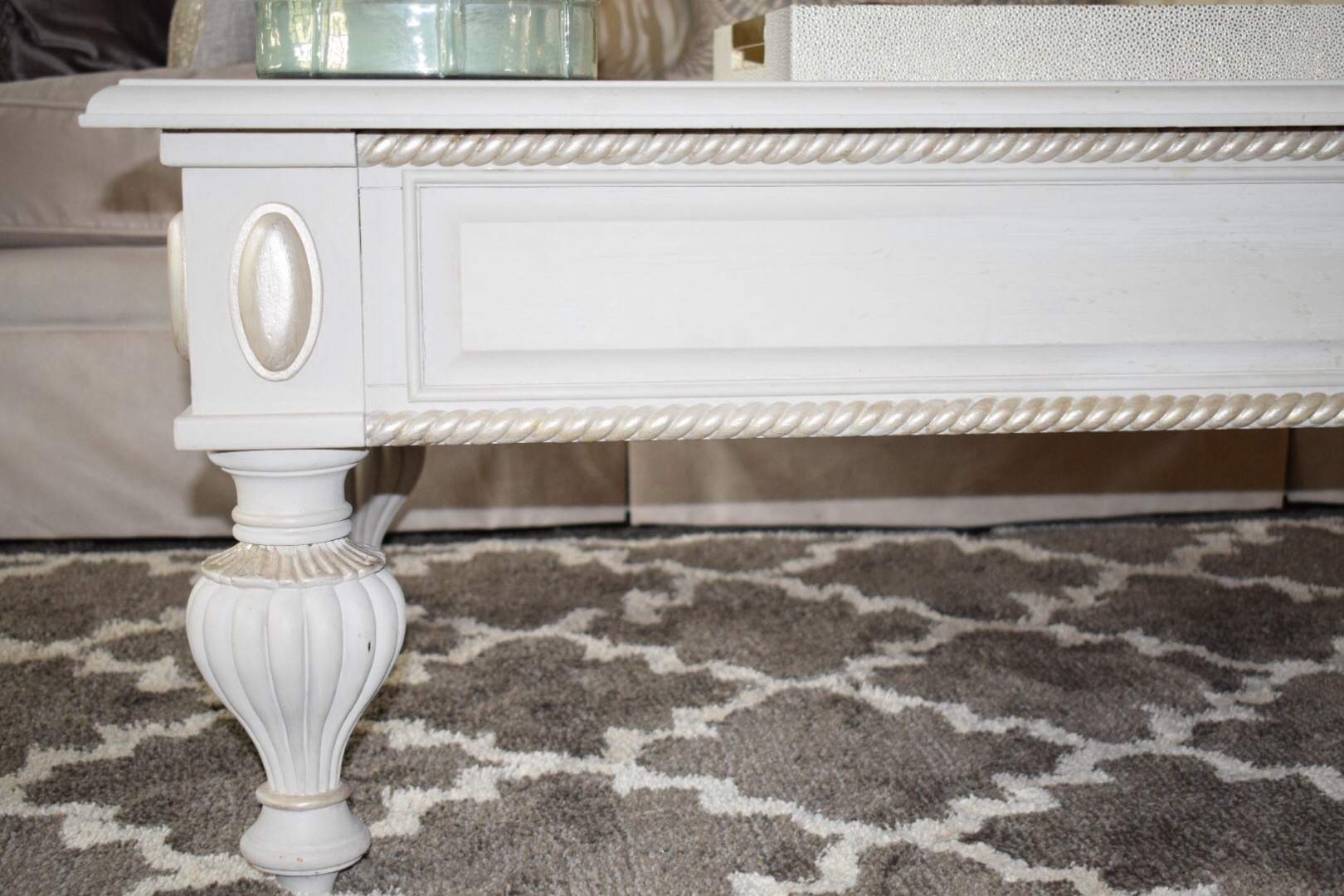 Empire Coffee Table How To Rehab Old Furniture Using Chalk Paint Crockpot Empire