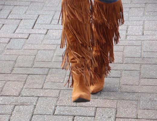 Crockpot Empire - Target - Suede Fringe Boots