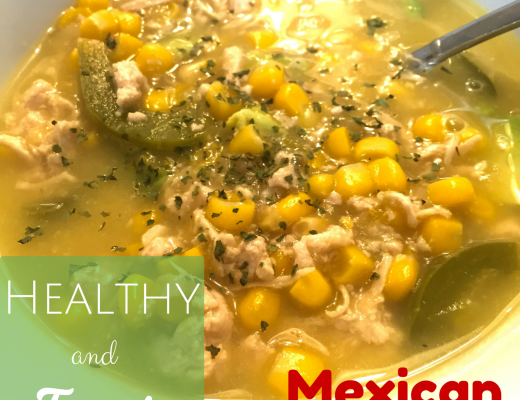 Healthy and Fast Recipe - Mexican Soup - Healthy Recipes - Crockpot Empire