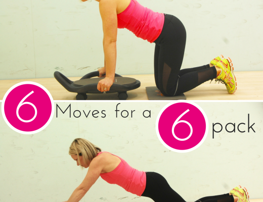 My new six moves to get a great abs work out using the ab roller. Six moves to your six pack on Crockpot Empire