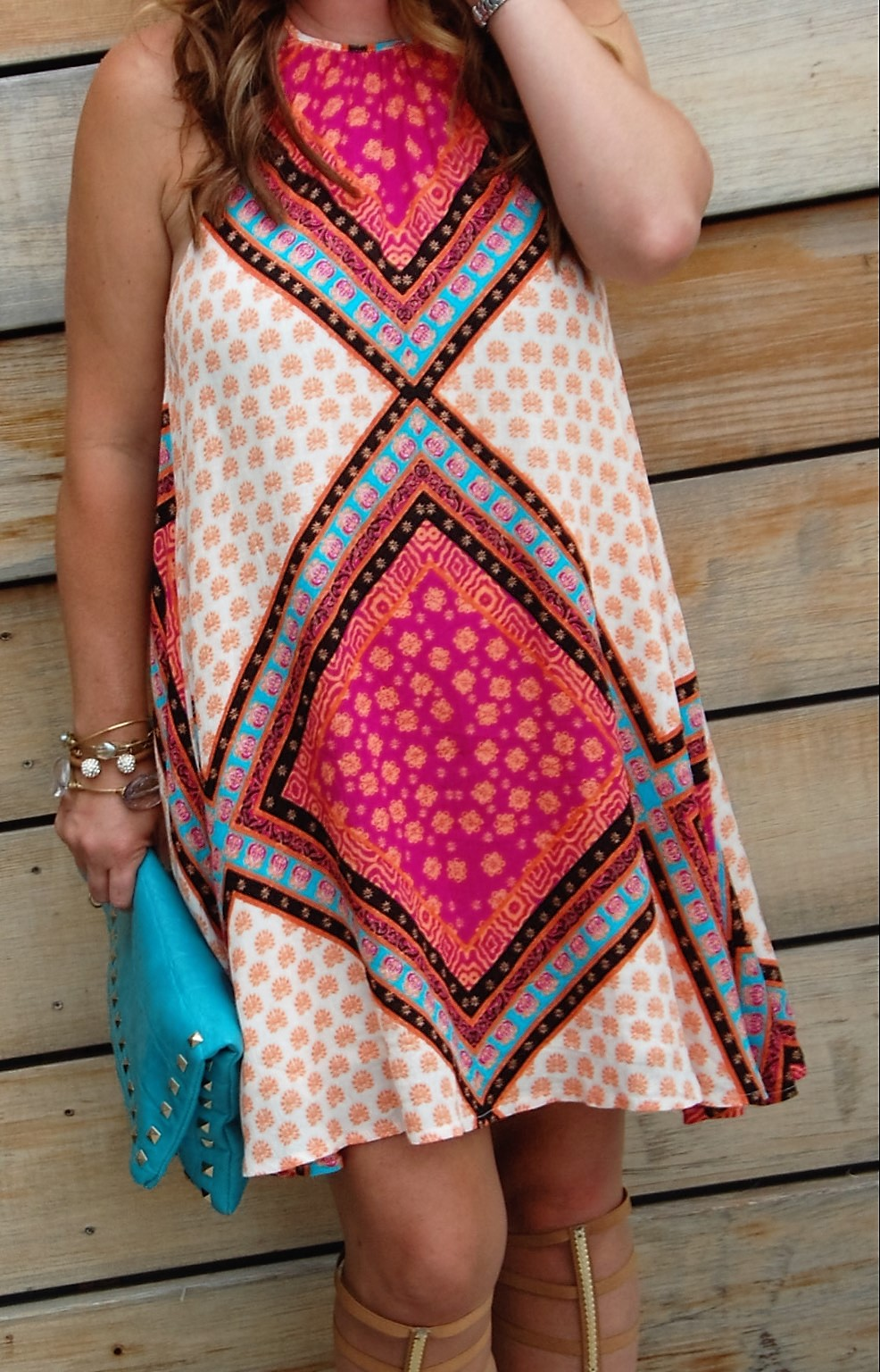 Ivy Lane Boutique Minkpink African Trance Dress Crockpot Empire Kimberly Bishop