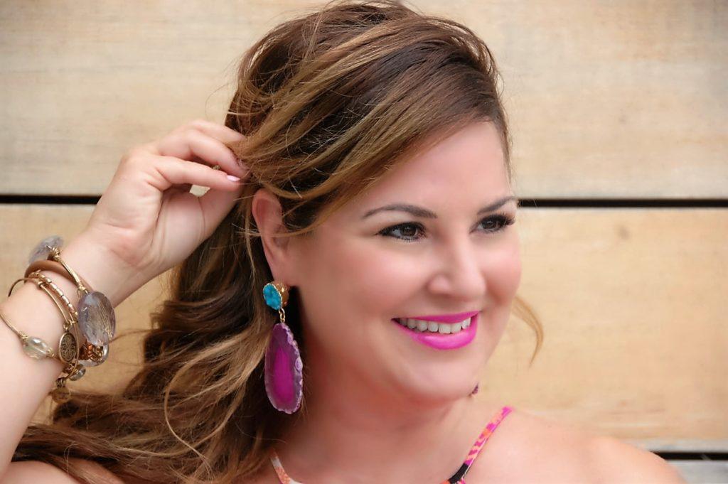 Kimberly Bishop Crockpot Empire Baublebar Geode Earrings