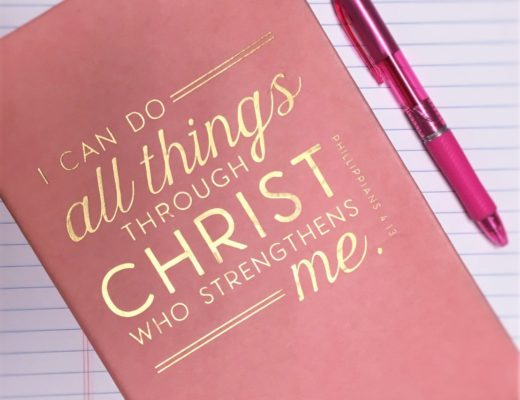 Phillipians 4 13 I can do all things through Christ
