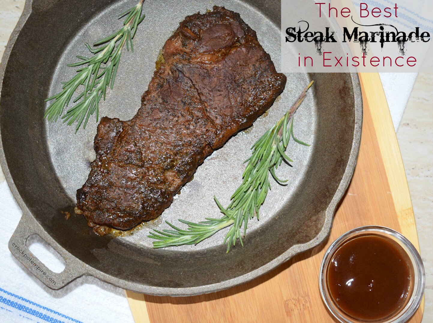 Have you tried 'The Best Steak Marinade in Existence ...
