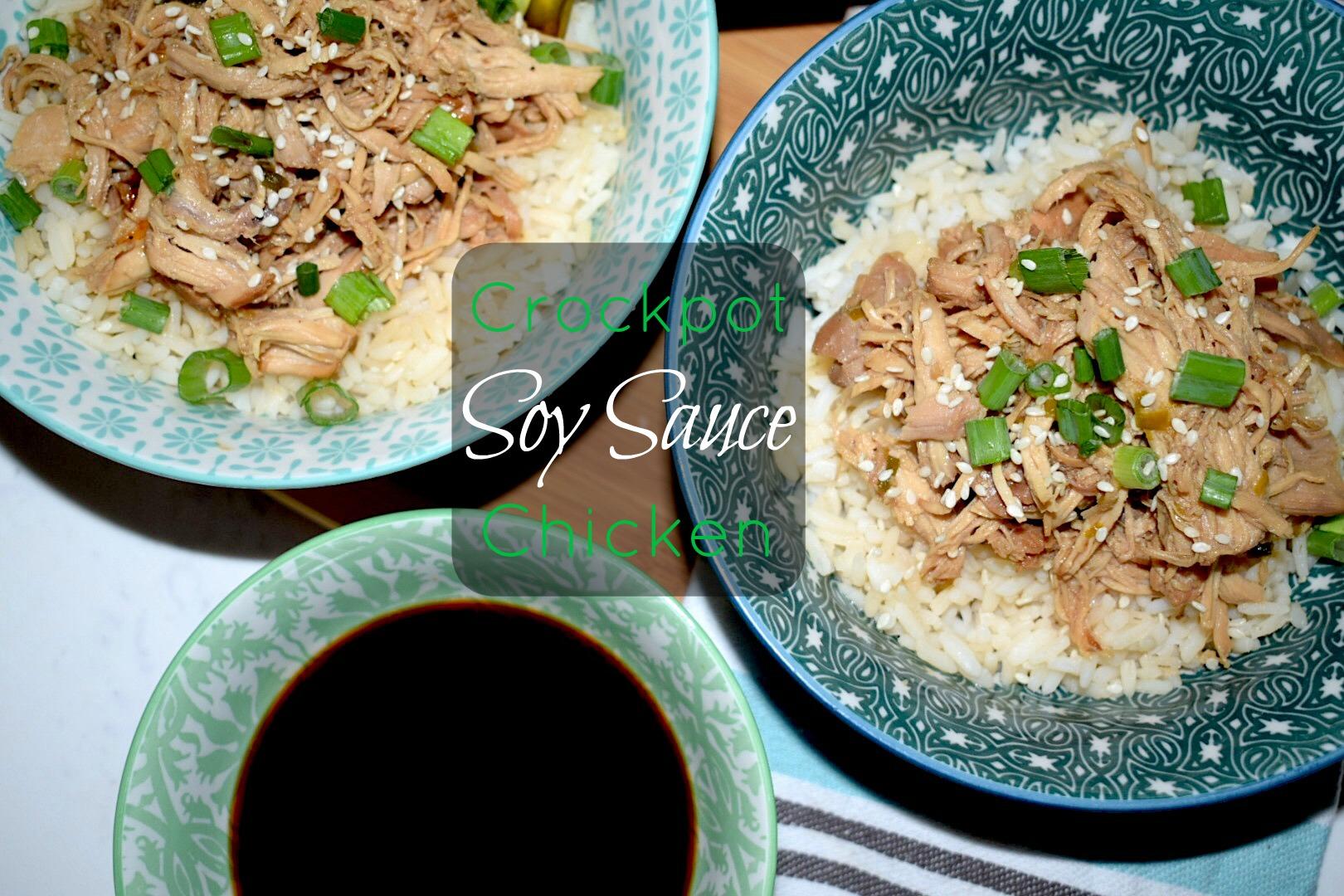 Crockpot Soy Sauce Chicken
