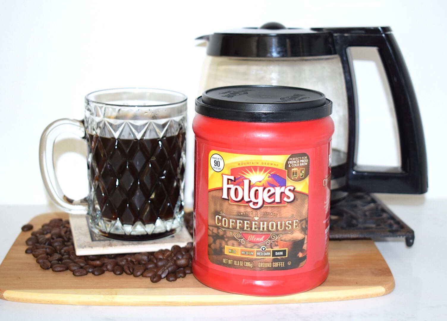 Folgers Coffeehouse Chocolate Coffee Protein Smoothie