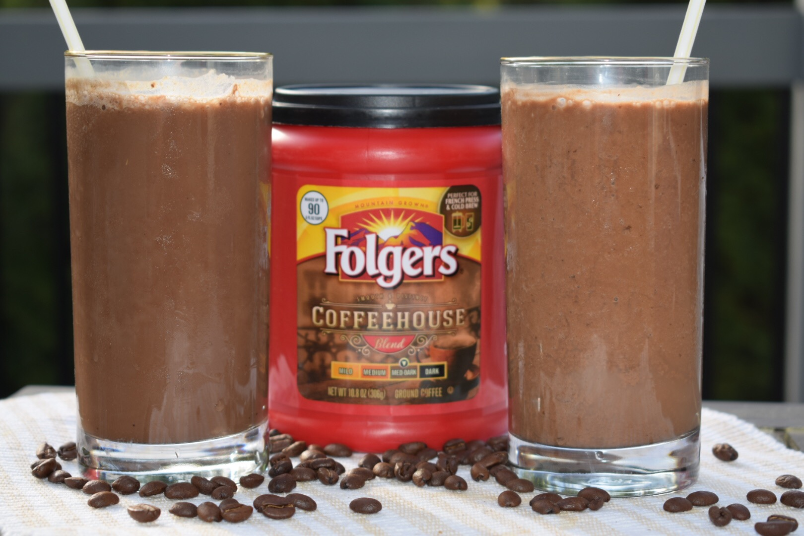 olgers Coffeehouse Chocolate Coffee Protein Smoothie