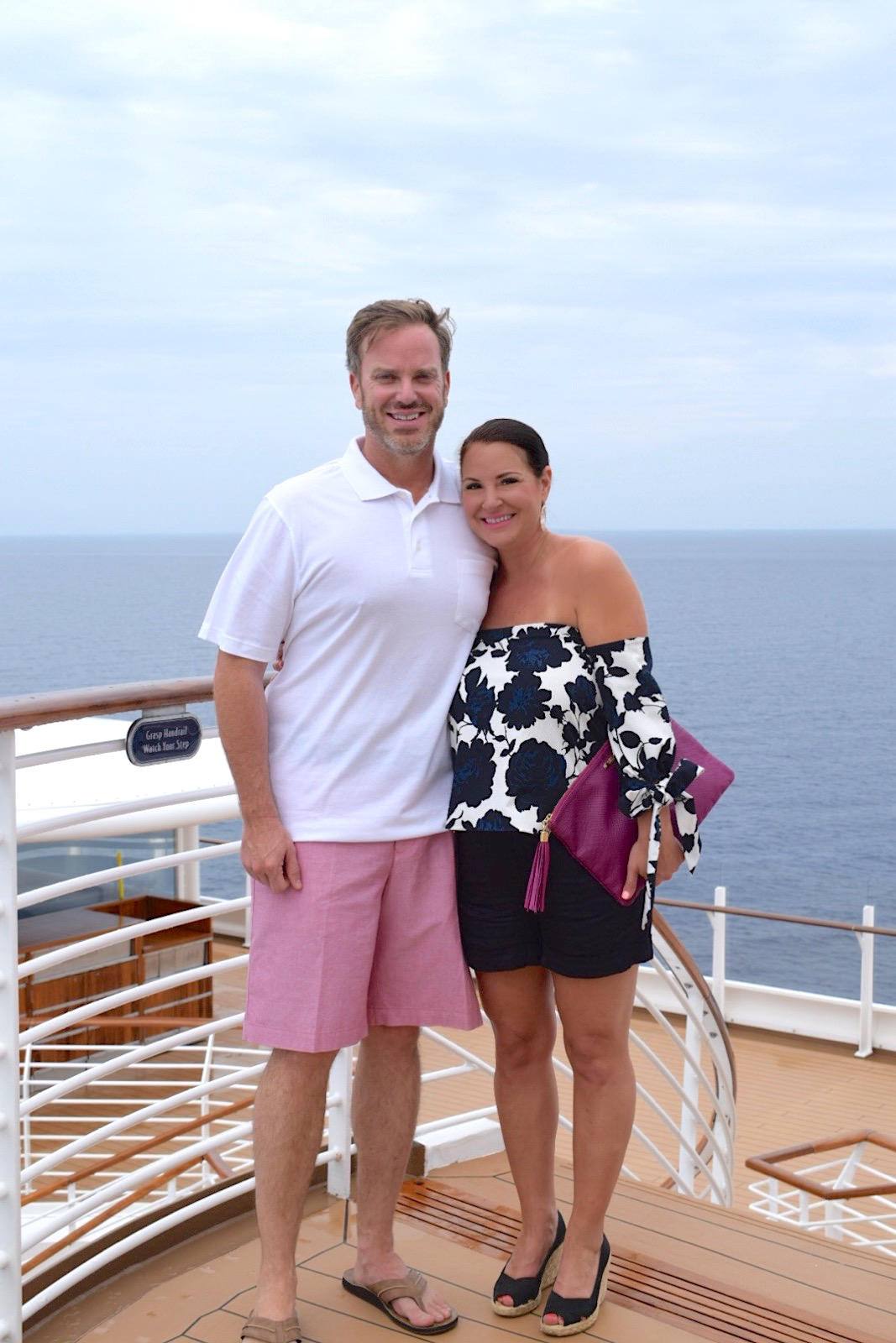 Kim and Fred Bishop on the Disney Dream Cruise Ship